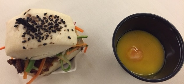 Bao Buns and Cantaloupe Soup